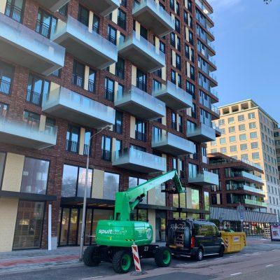 Betonresten appartementen verwijderen