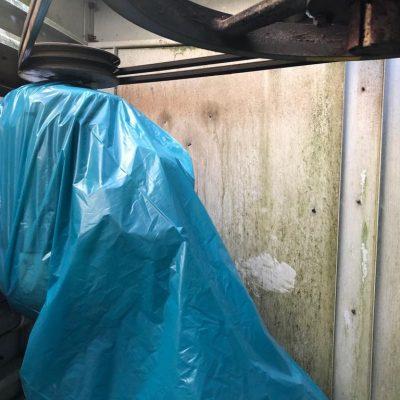 Reinigen en desinfecteren koeltoren voor