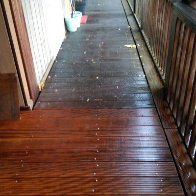 Reinigen houten vloer