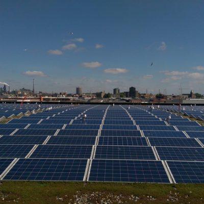 zonnepanelen reinigen na